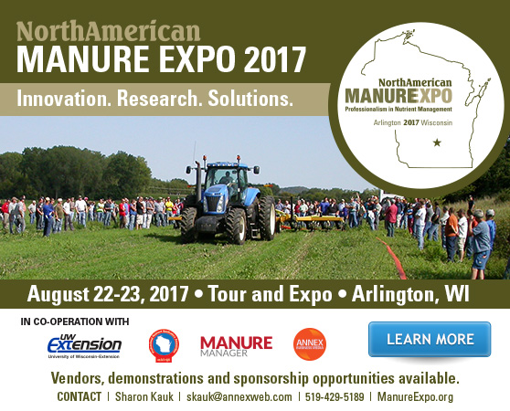 Manure Expo: Time is running out