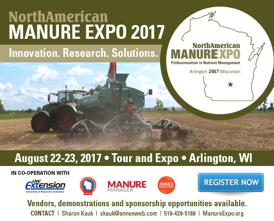Manure Expo: Be in the driver's seat