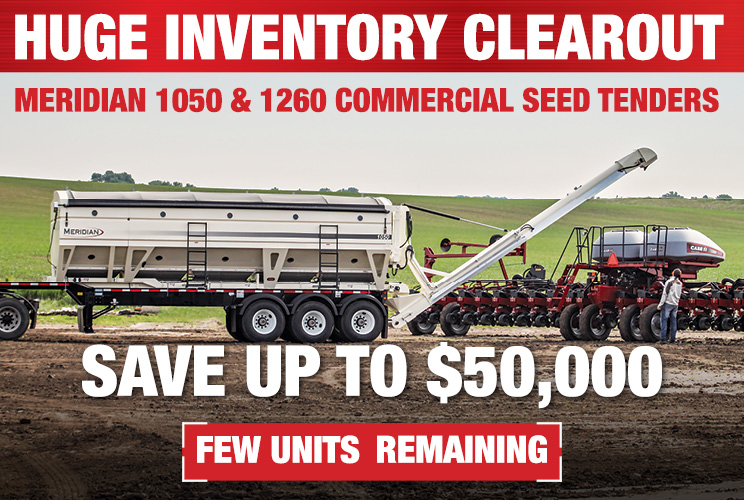 Take Advantage of Clearance Prices on Meridian Seed Tenders Just In Time for #Plant18!